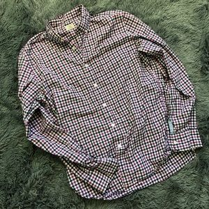 J. Crew Medium Checkered Shirt - Medium